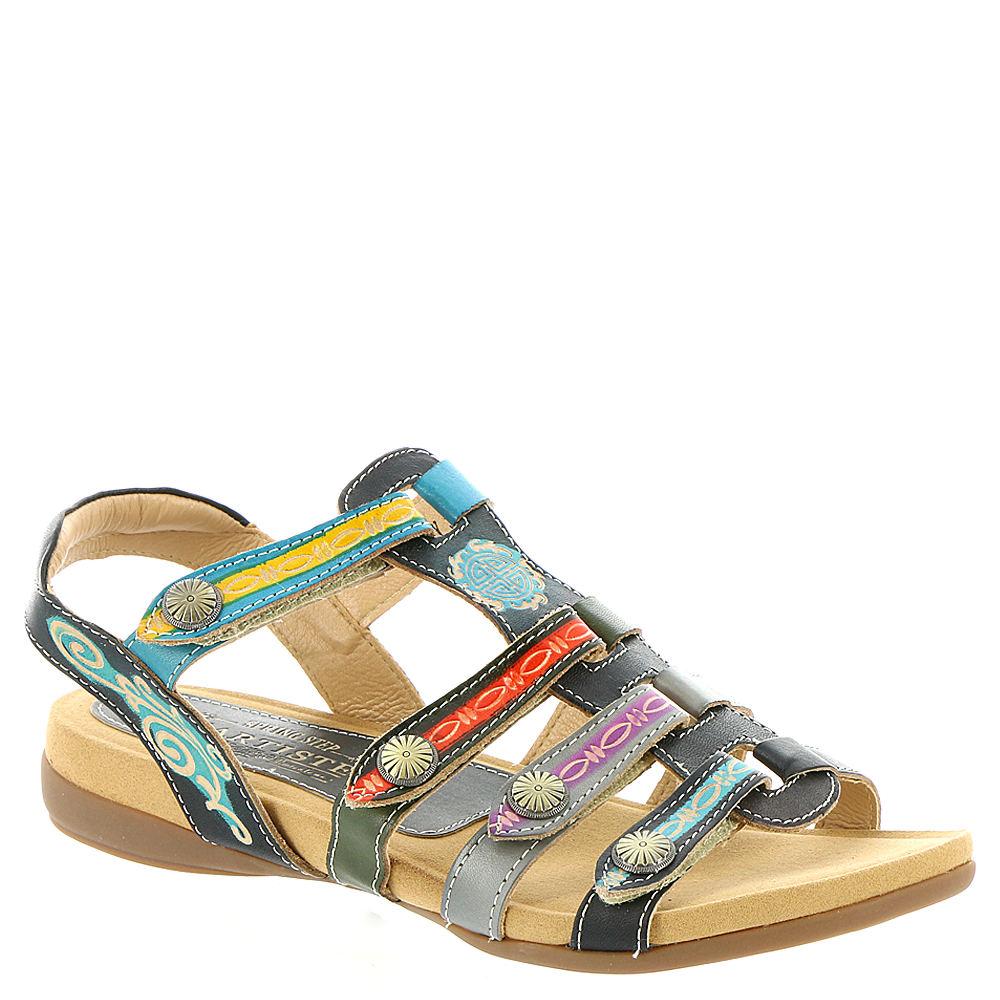 Spring Step Gipsy Women's Black Sandal Euro 38      US 7....