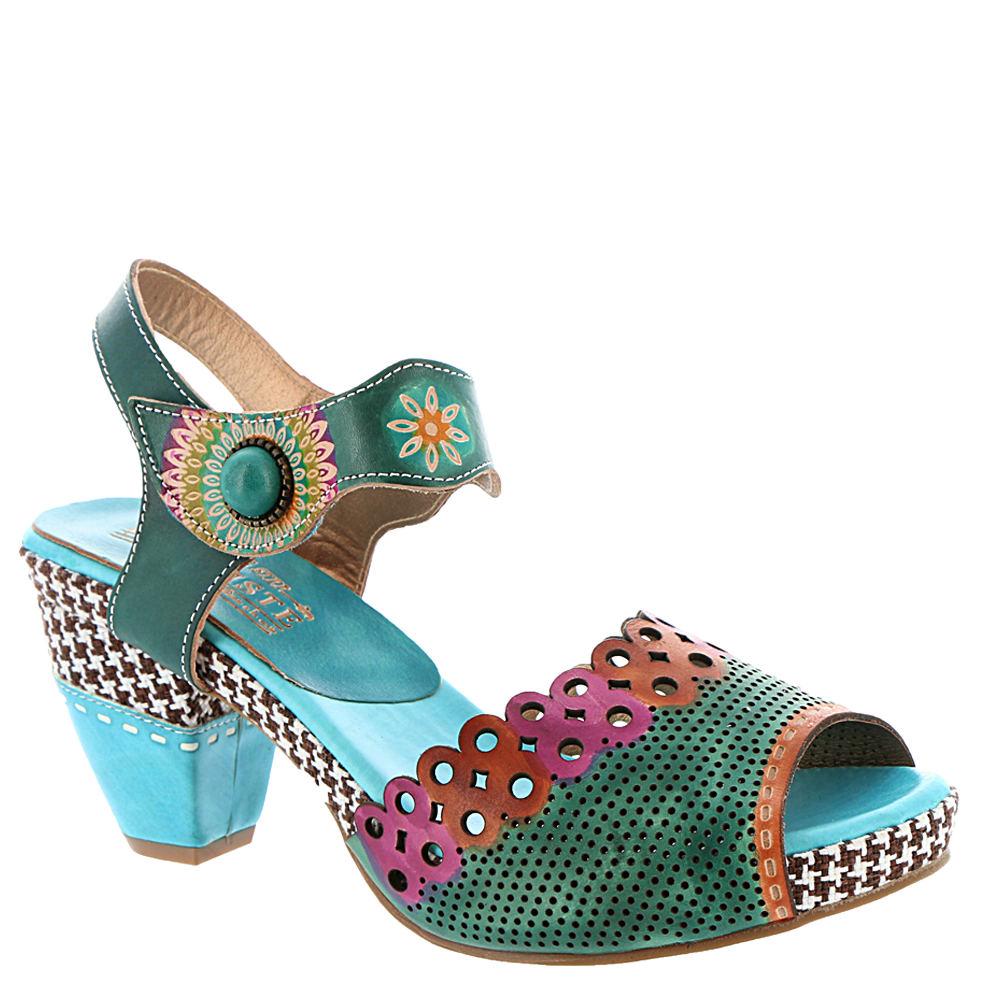 Spring Step Jive Women's Blue Sandal Euro 37      US 6.5 ...