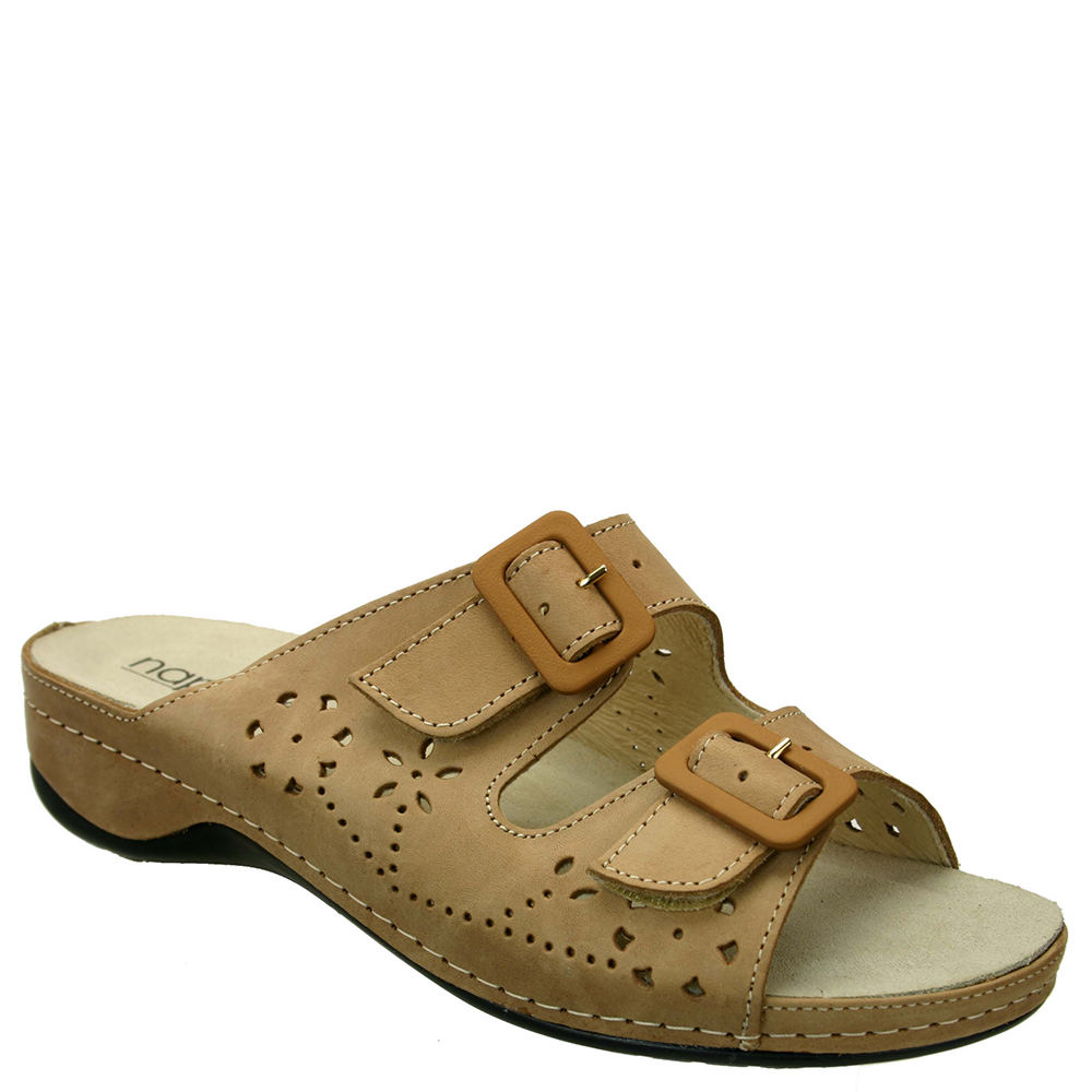 Napa Flex Double Women's Tan Sandal Euro 40 US 9 W 522990CML400W
