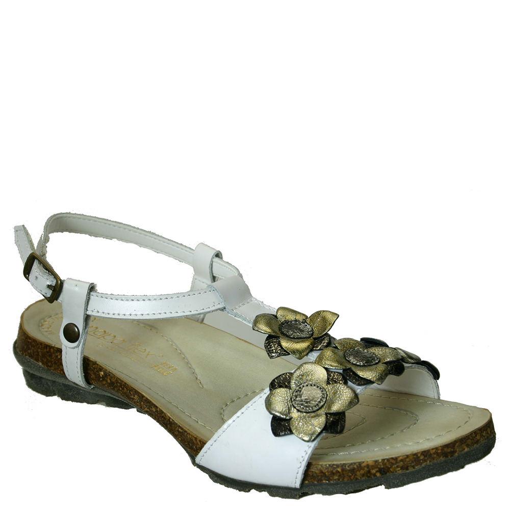 Napa Flex Merit Women's White Sandal Euro 36 US 5.5 - 6 M 523002WHT360M