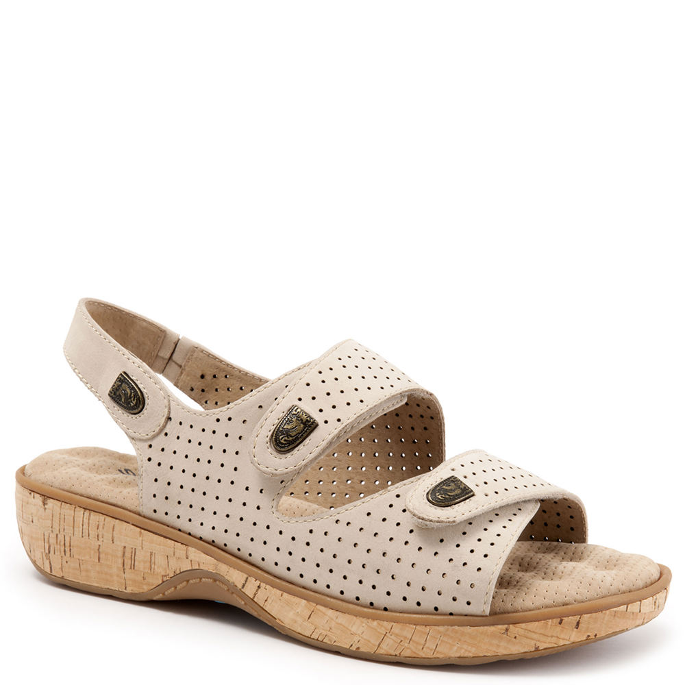 soft walk bolivia perforated s sandal