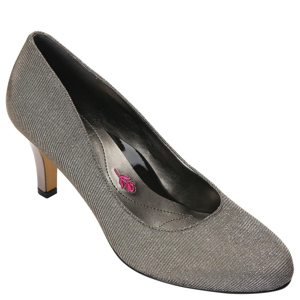 Ros Hommerson Janet Glitter Women's Silver Slip On 10 N