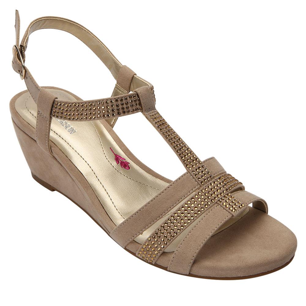 Ros Hommerson Whitney Women's Tan Sandal 8 N