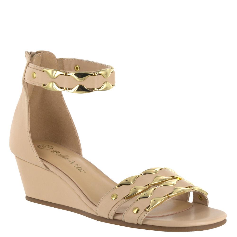 Bella Vita Imogen Women's Tan Sandal 8 W2 523672NUD080W2