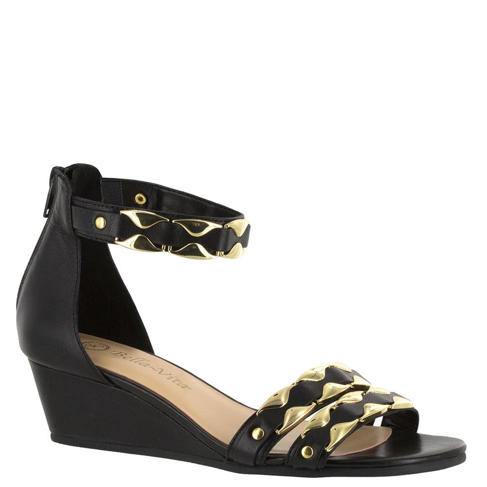 Bella Vita Imogen Women's Black Sandal 7 W2 523670BLK070W2