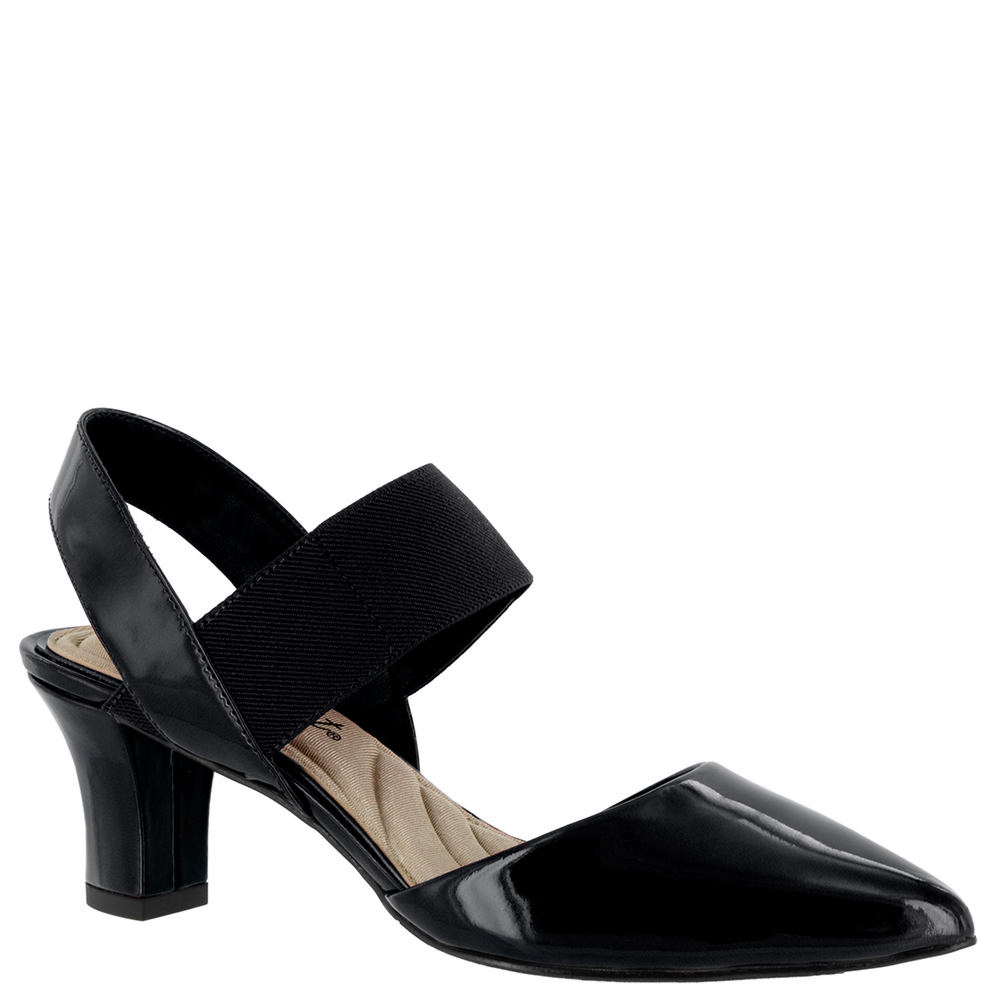 Easy Street Vibrant Women's Black Pump 7 W2 524204BLK070W2