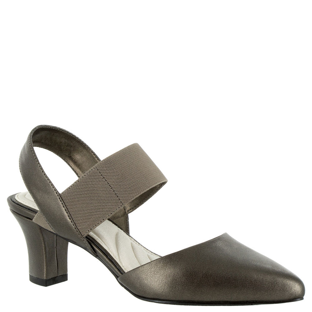 Easy Street Vibrant Women's Pewter Pump 7.5 W 524207PWT075W