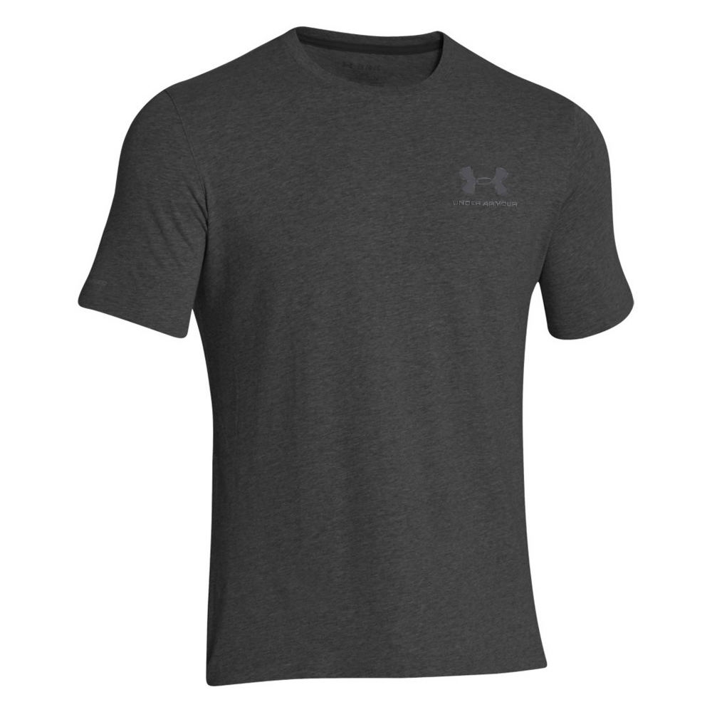 Under Armour Men's Charged Cotton Sportstyle Tee Black Knit Tops M 710390BLKM
