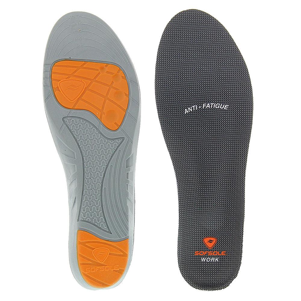 Sof Sole Work Insole Men's Black Footwear Accessories One Size 642692BLK