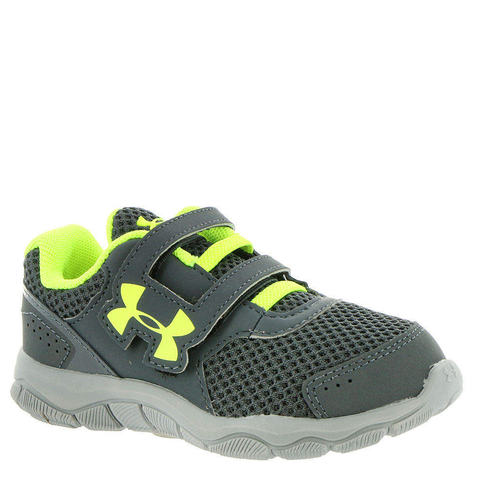 Under Armour BINF Engage BL 3 AC Boys' Infant-Toddler Grey Running 6 Toddler M 825886SLG060M