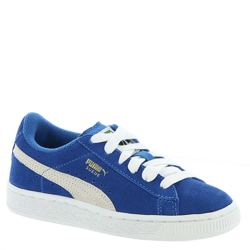 PUMA Suede PS Boys' Toddler-Youth Blue Sneaker 11.5 Toddler M 820626BLU115M