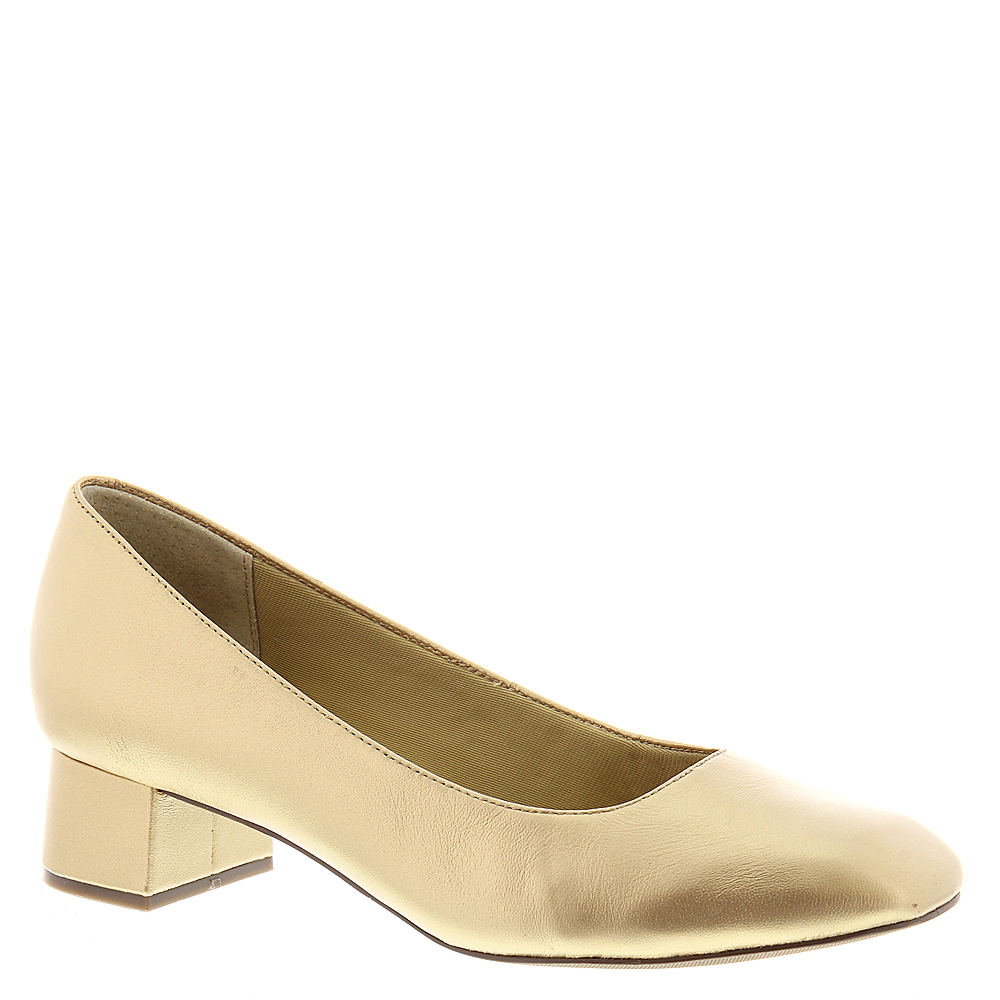 Trotters Lola Women's Gold Pump 11 S