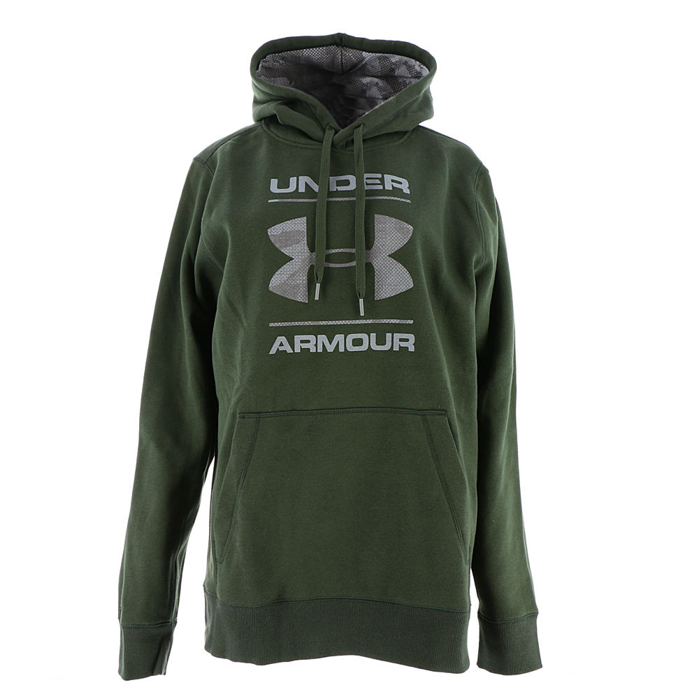 Under Armour Men's Storm Rival Cotton Graphic Pullover 710458GRNL