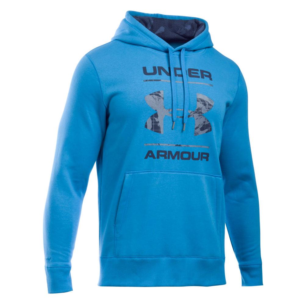 Under Armour Men's Storm Rival Cotton Graphic Pullover 710458BLUM