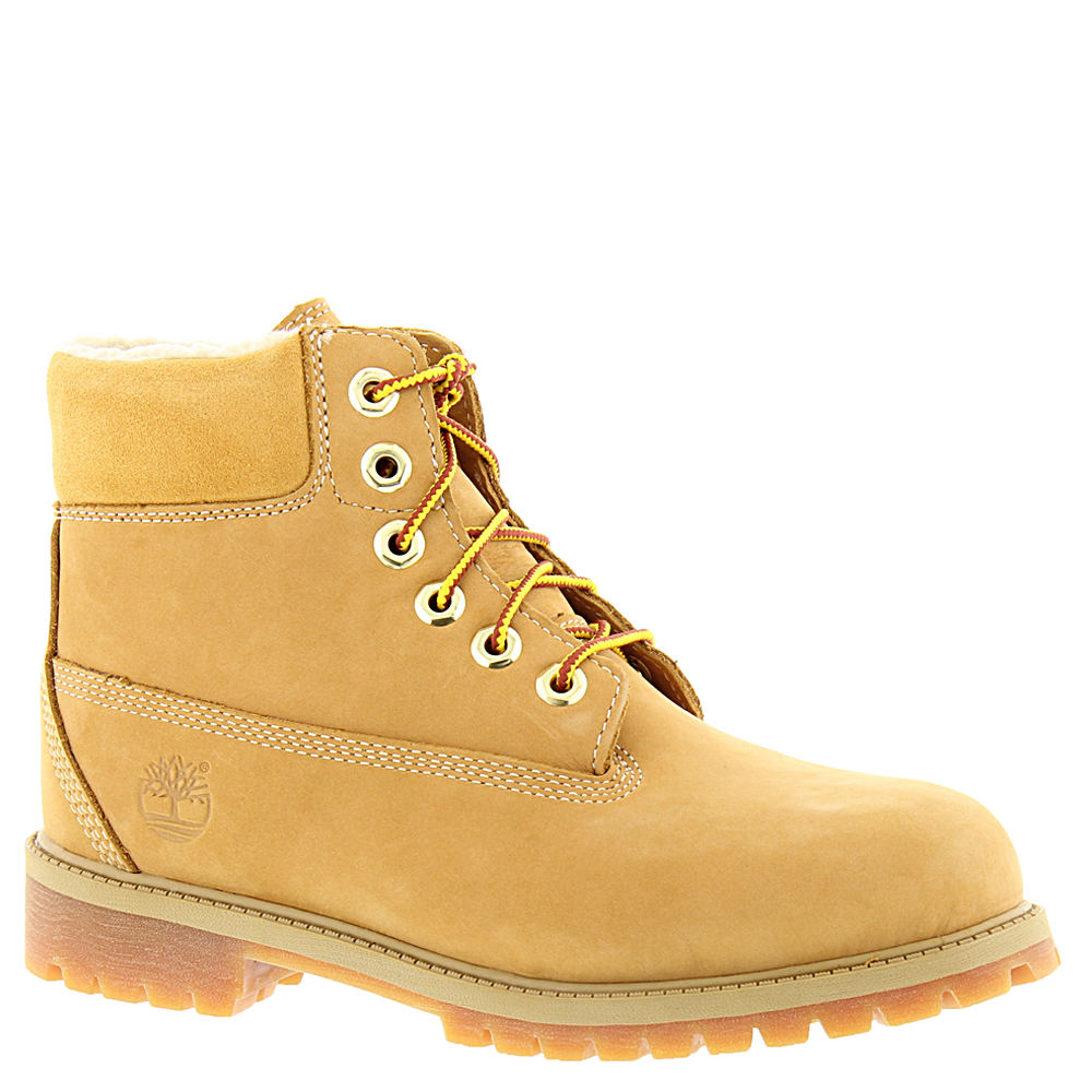Timberland 6in Classic Shearling Kids' Toddler-Youth Tan ...
