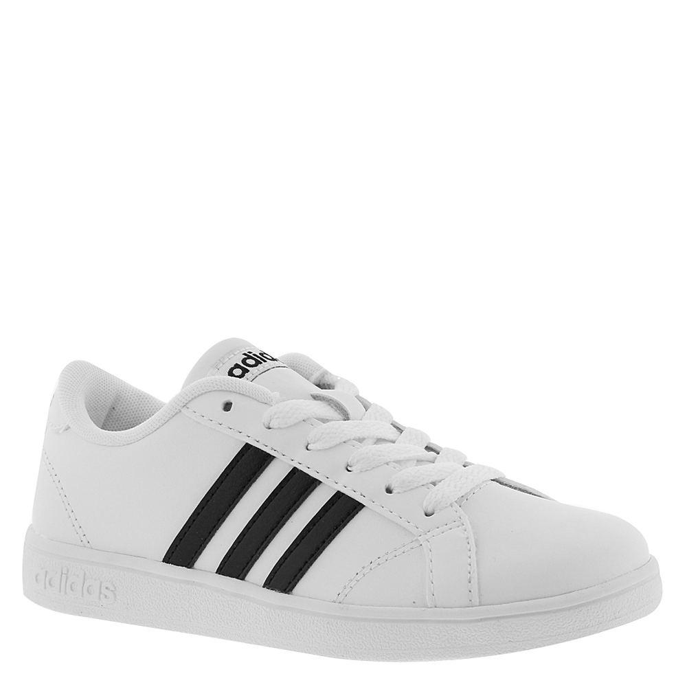Adidas Baseline K Boys' Toddler-Youth White Sneaker 13 To...