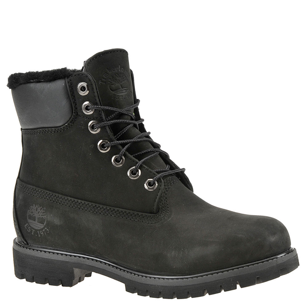 """Timberland Heritage 6"""" Warm Lined  Men's Black Boot 8 M"""