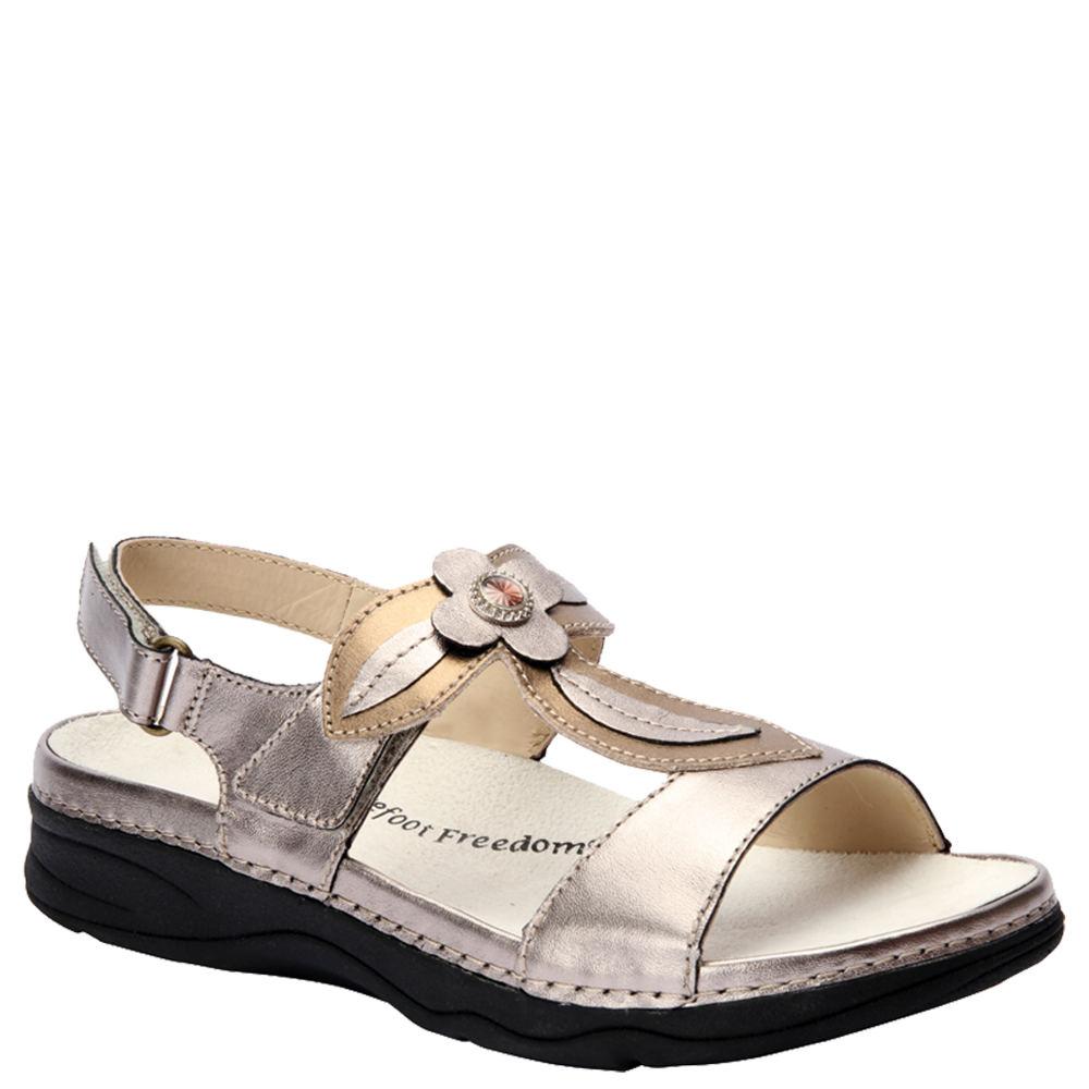 Drew Alana Women's Grey Sandal 12.5 M