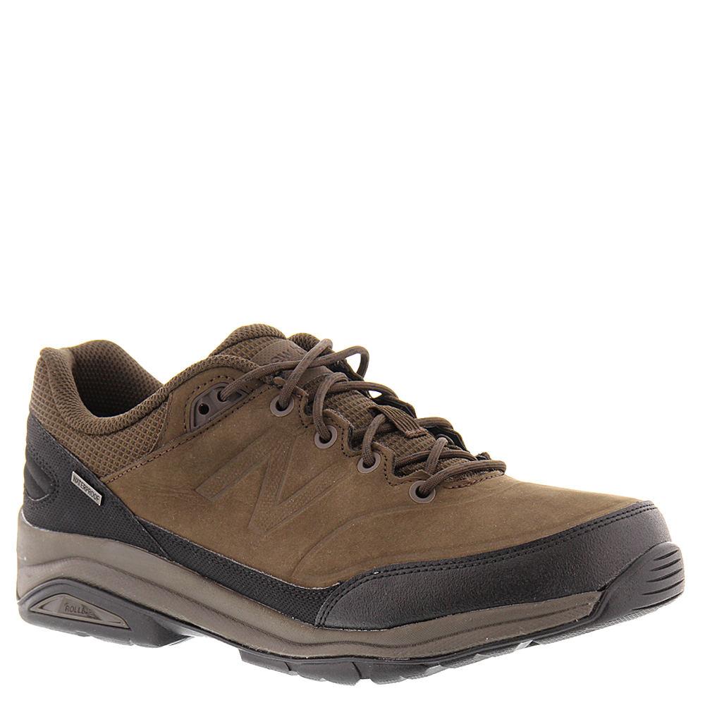 New Balance Men's 1300 Walking Shoe, Brown/Black, 10 2E US
