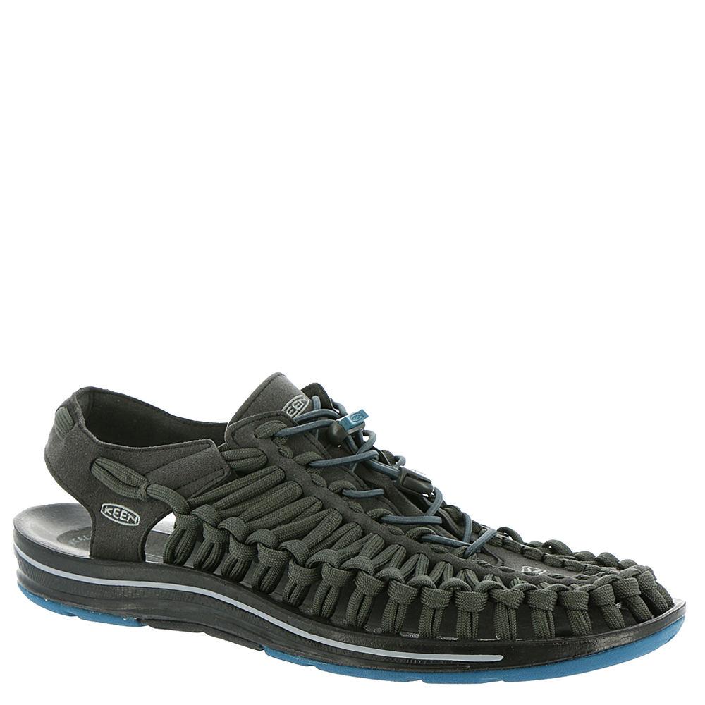 Keen Uneek Flat Men's Black Sandal 9.5 M