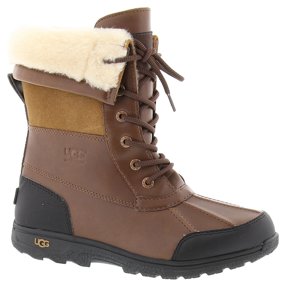 UGG Butte II Kids Toddler-Youth Brown Boot 2 Youth M