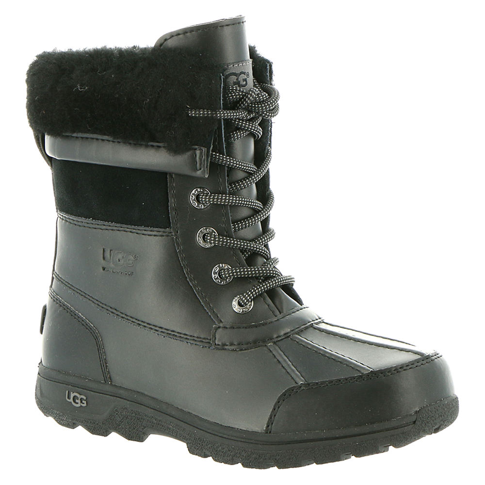 UGG Butte II Kids Toddler-Youth Black Boot 13 Toddler M