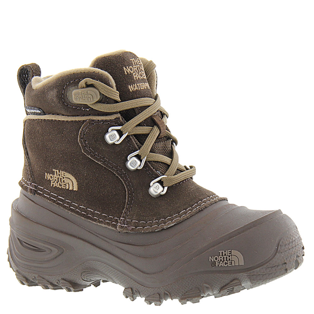 North Face Chilkat Lace II Boys' Toddler-Youth Brown Boot...