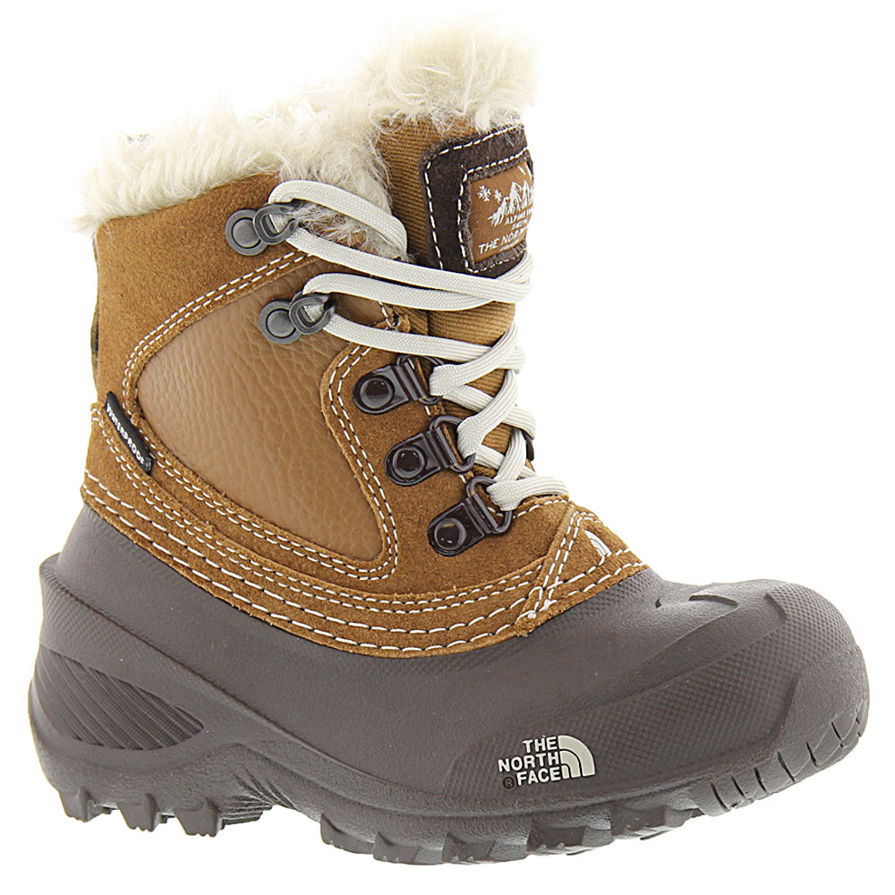 North Face Shellista Extreme Girls' Toddler-Youth Brown B...