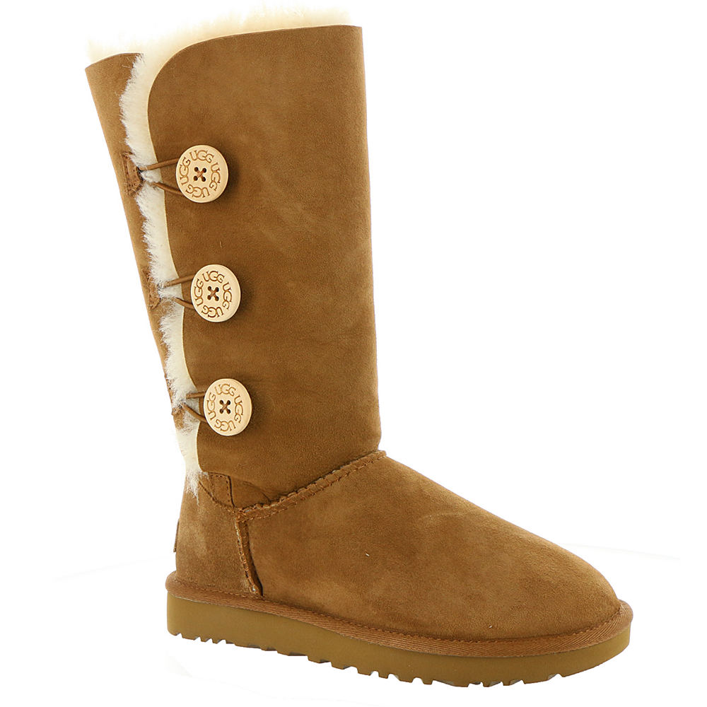 UGG Bailey Button Triplet II Women's Brown Boot 5 M