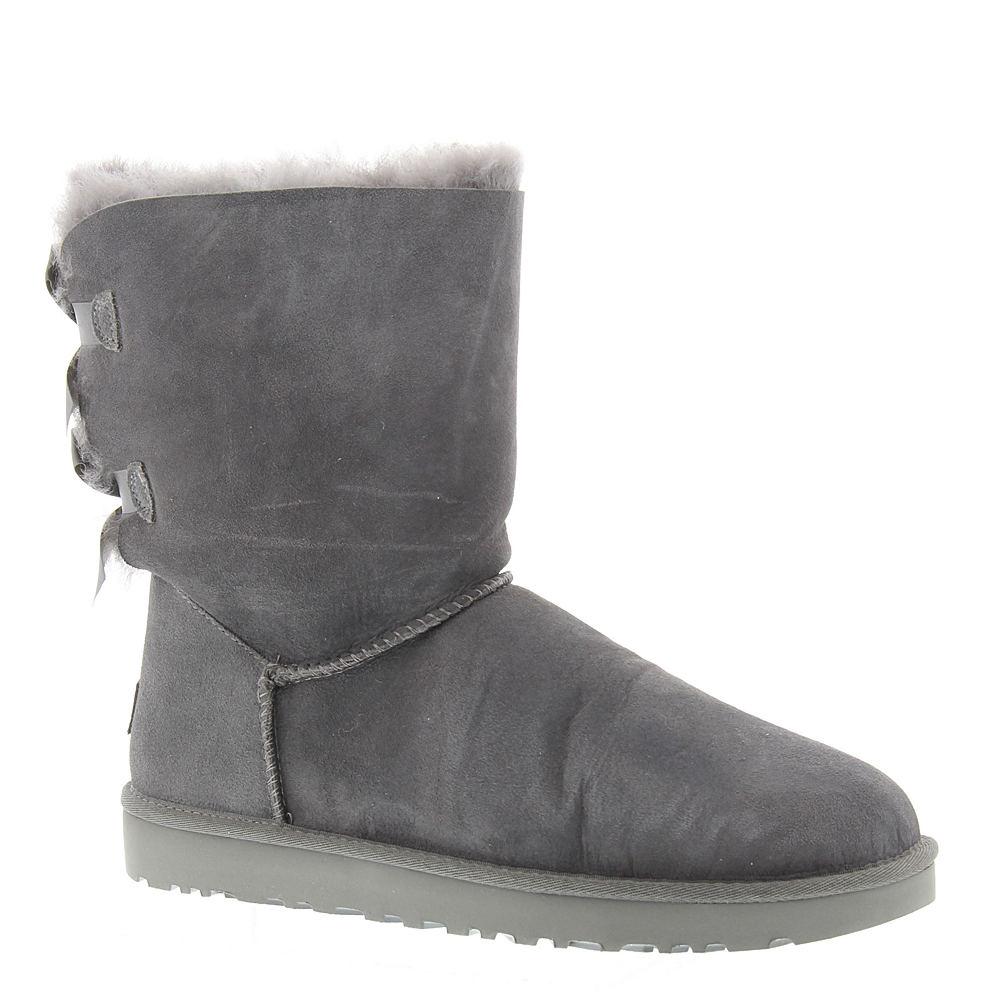UGG Bailey Bow II Women's Grey Boot 8 M