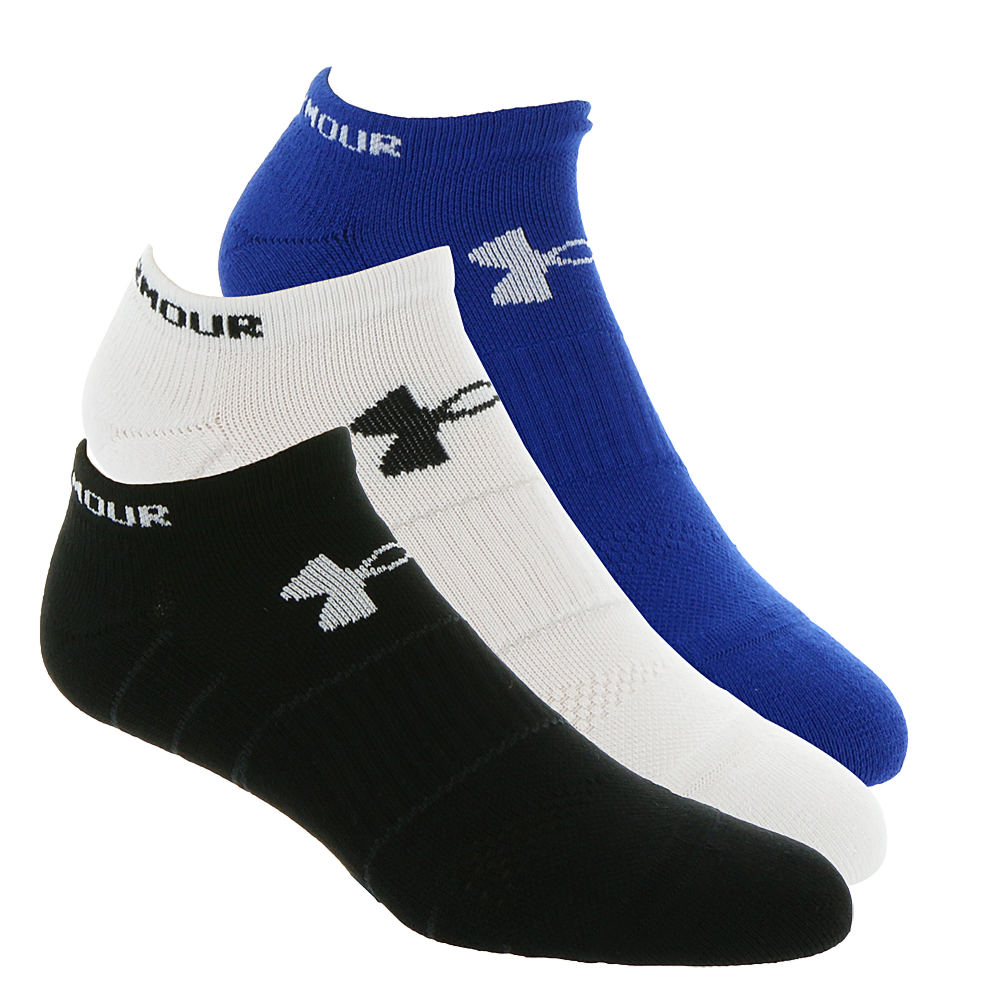 Under Armour Men's Elevated Performance No Show Socks Multi Socks M 643307MLTMED
