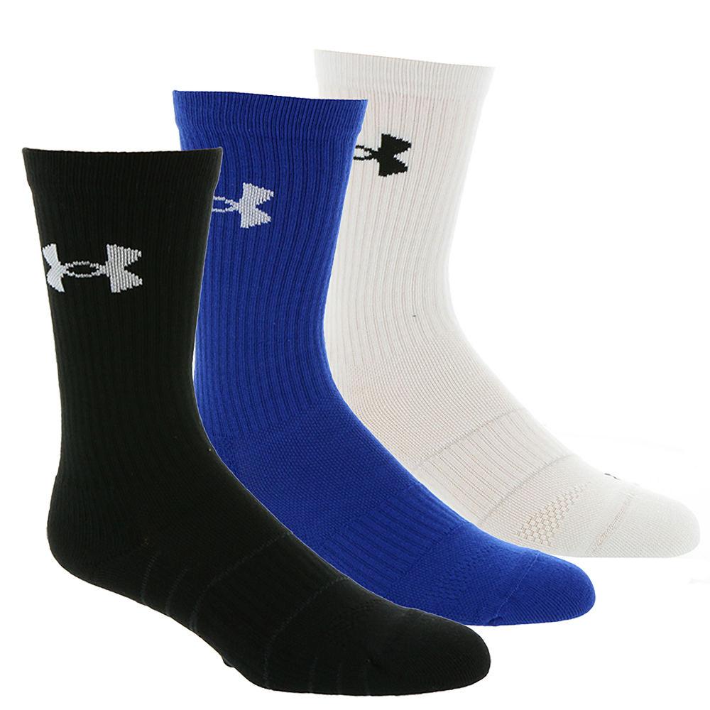Under Armour Men's Elevated Performance Crew Socks Multi Socks L 643306MLTLRG