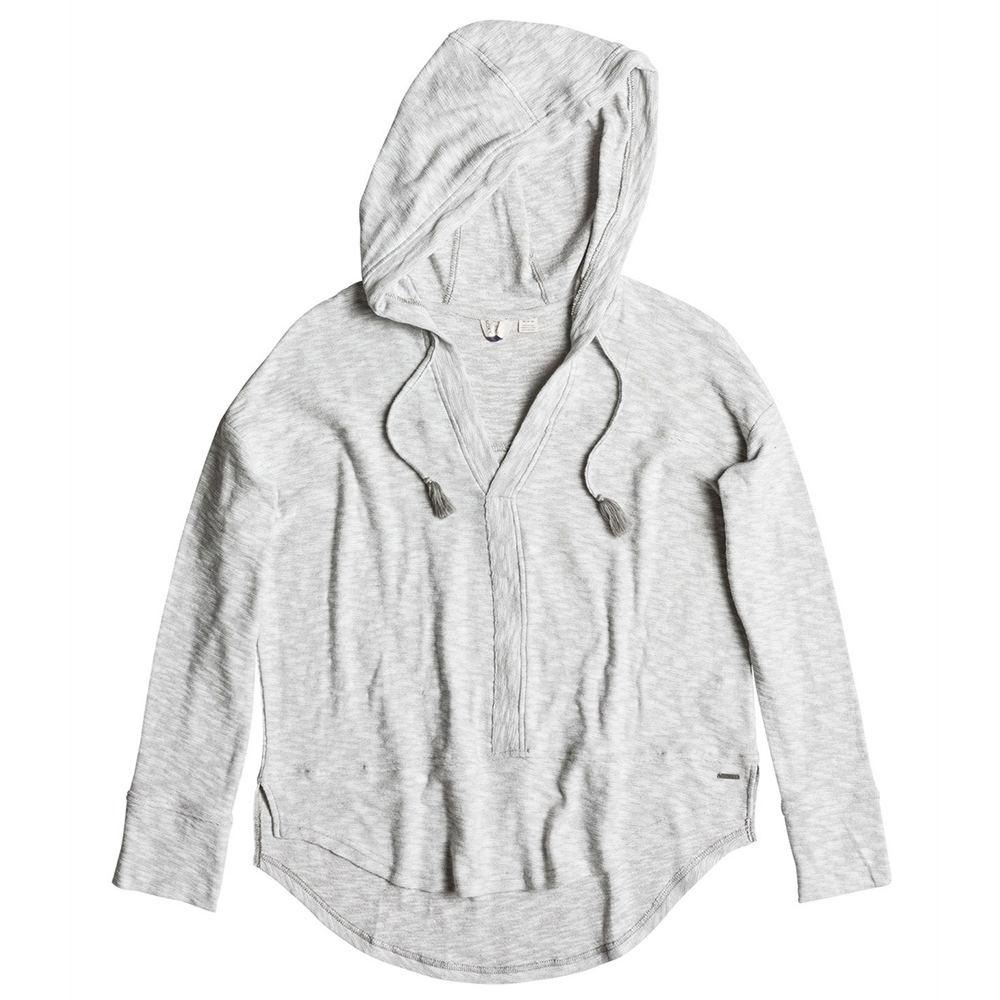 Roxy Sportswear Good Vibrations Hoodie Grey Knit Tops M 710746HGRM