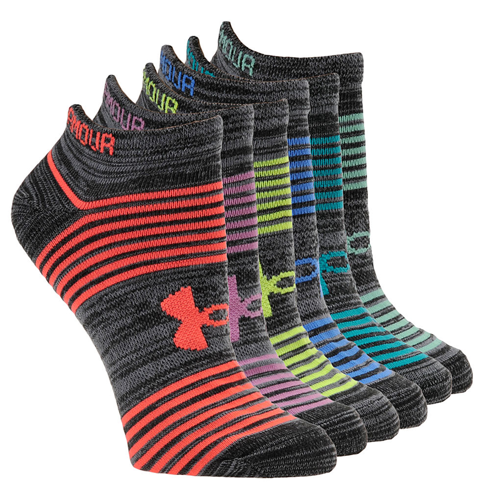 Under Armour Women's Essential Twist 2.0 Socks Black Socks M 526804BLHMED