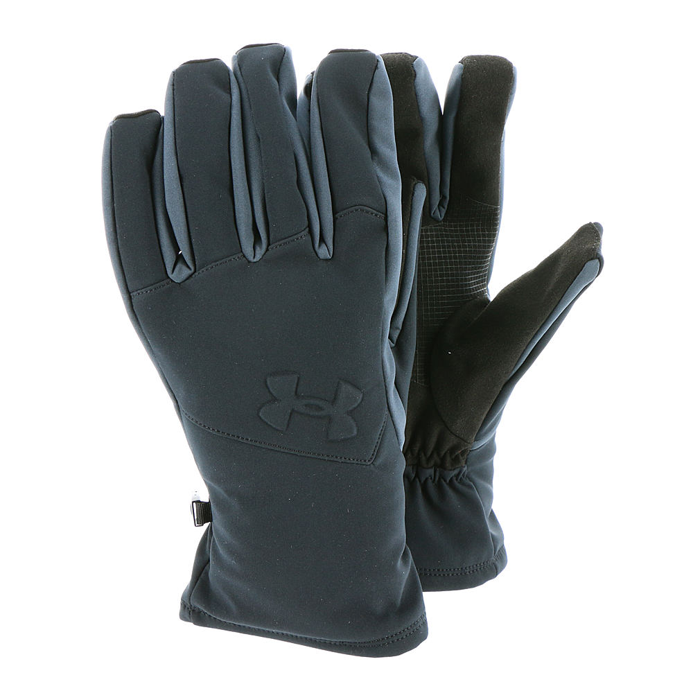Under Armour Coldgear Infrared Softshell Glove Men's Black Misc Accessories XL 643333BLKXL