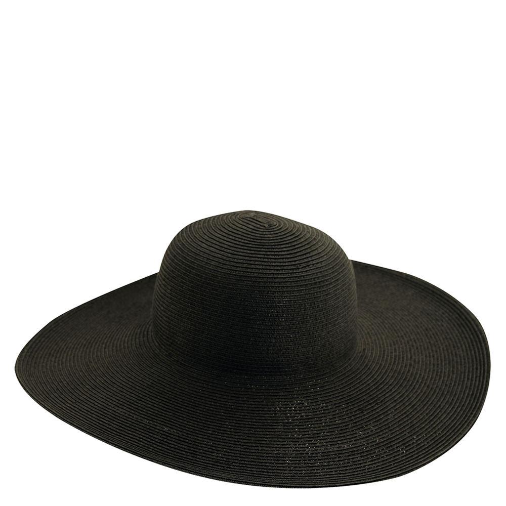 Scala Collezione Women's Paper Braid Big Brim Hat Black H...