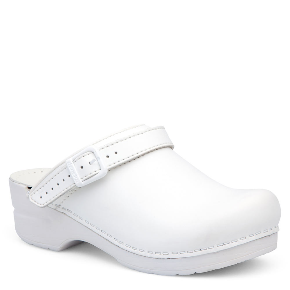 Dansko Ingrid Women's White Slip On Euro 35      US 4.5 -...