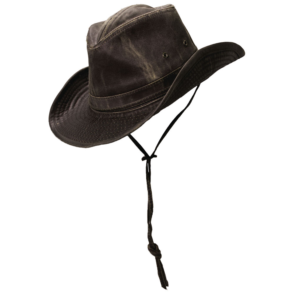 DPC Outdoor Design Men's Weathered Cotton Outback Hat Bro...