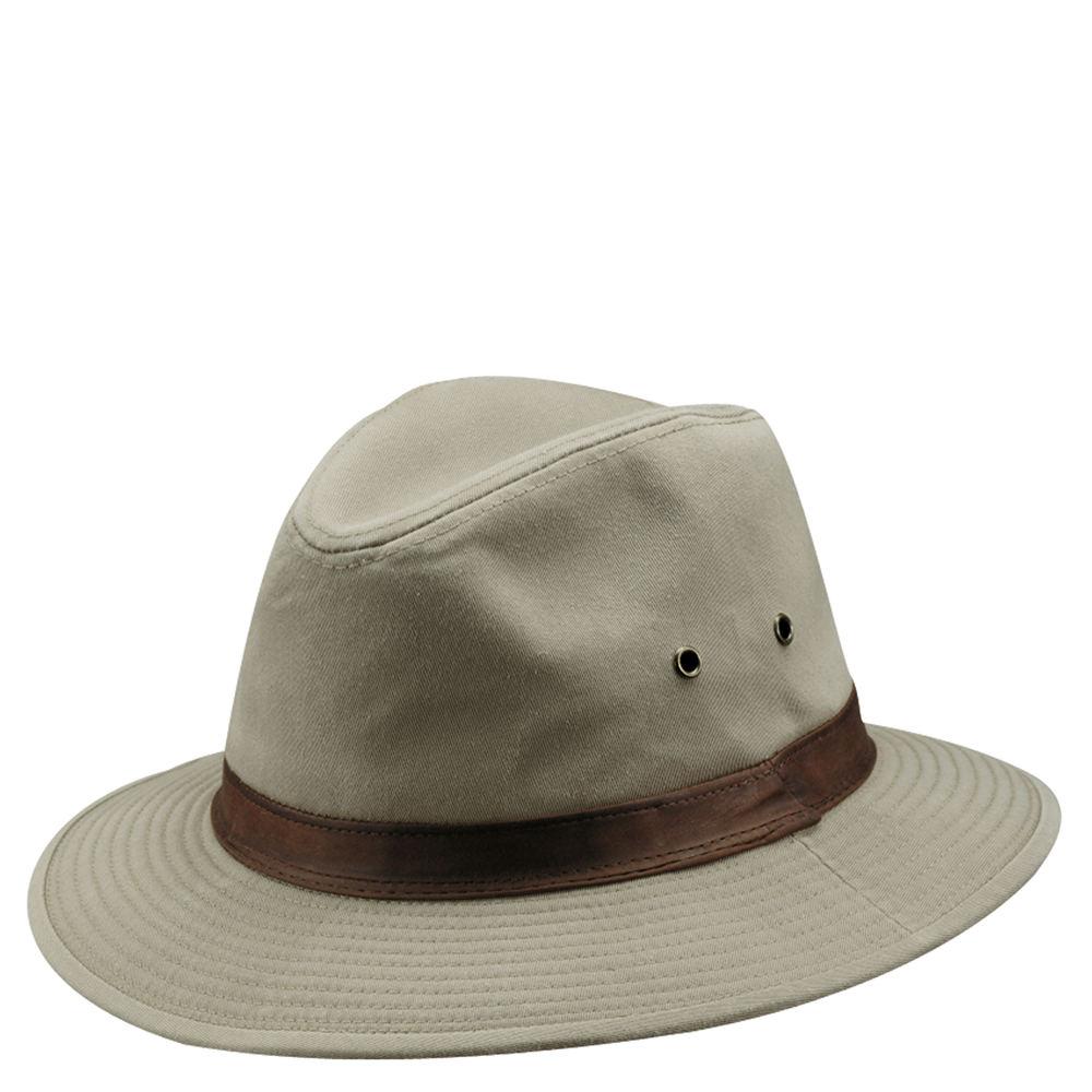 DPC Outdoor Design Men's Washed Twill Safari Hat Tan Hats XL