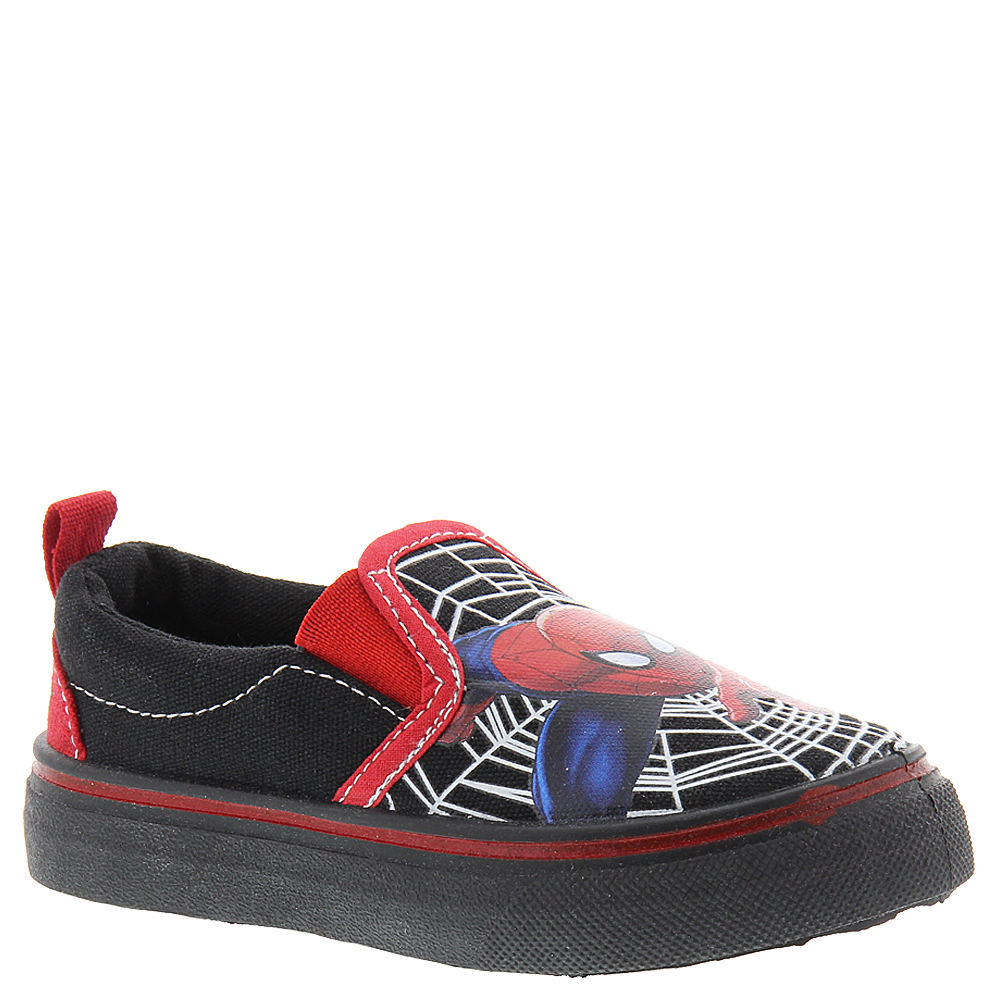 Marvel Spiderman Canvas SPS703 (Boys' Toddler) Black 821596