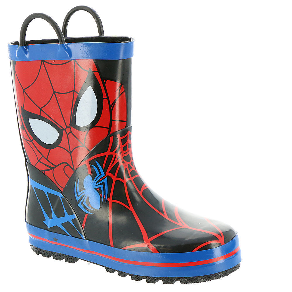 Marvel Spiderman Rain SPS502 Boys' Toddler Red Boot 11 Toddler M 821597RED110M