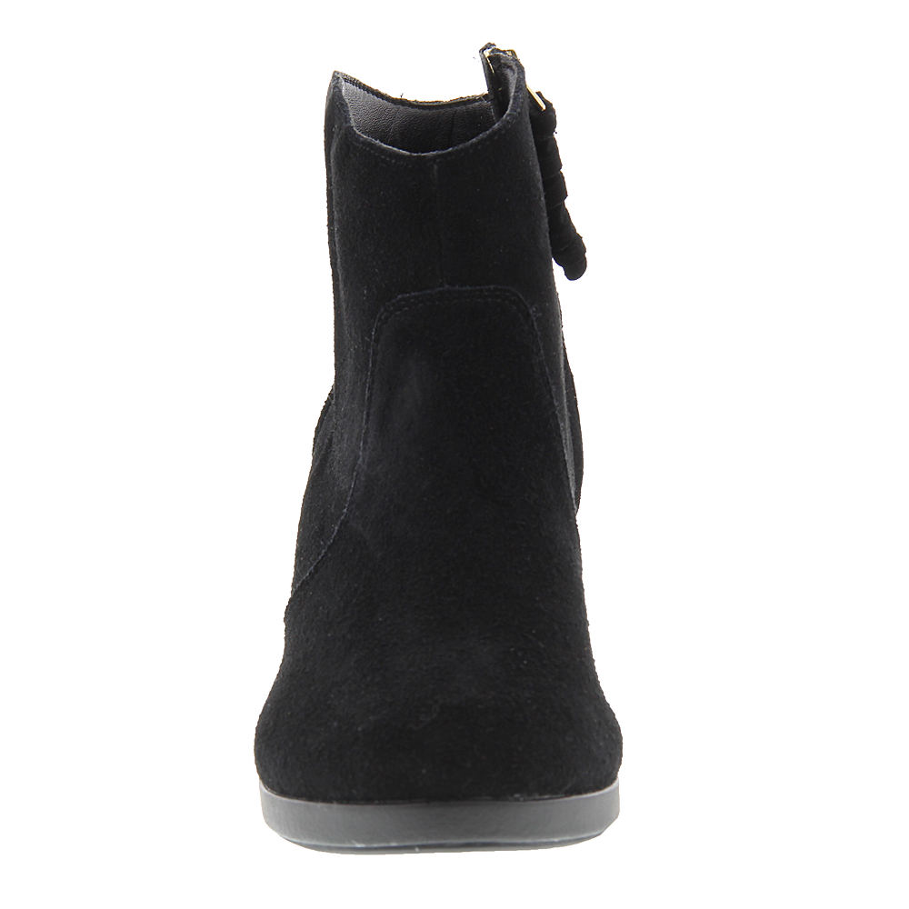 crocs leigh suede wedge s boot ebay