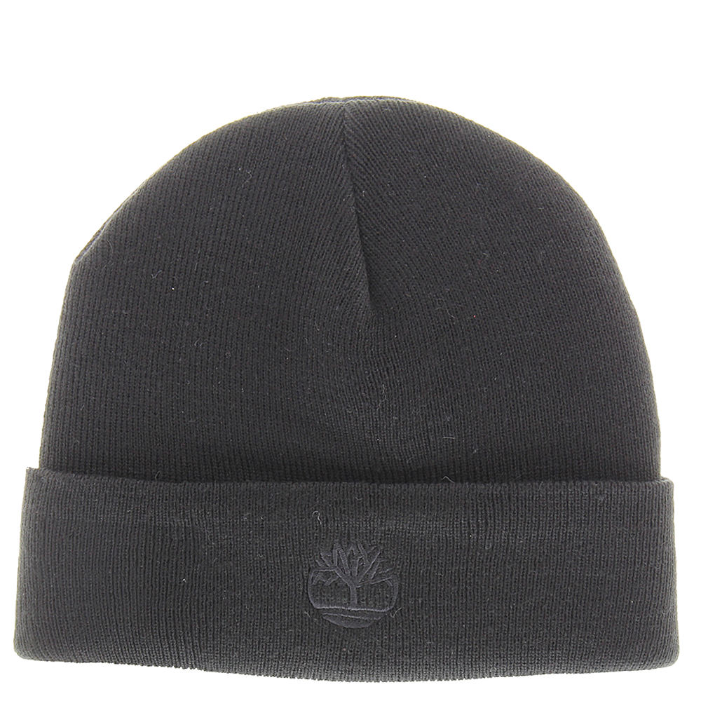 Timberland TH340037 Solid Knit Watchcap (Men's) Black 643667