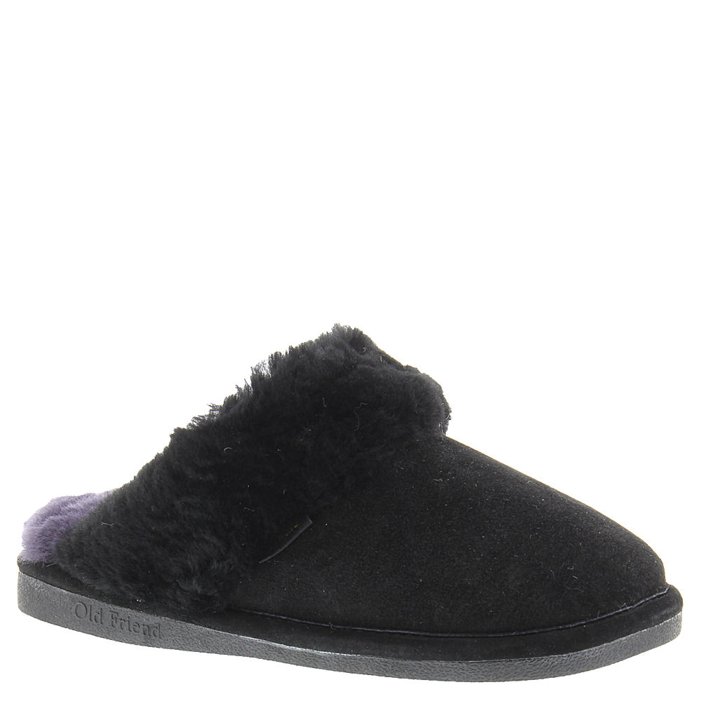 Old Friend Scuff Women's Black Slipper 12 M 517742BLK120M