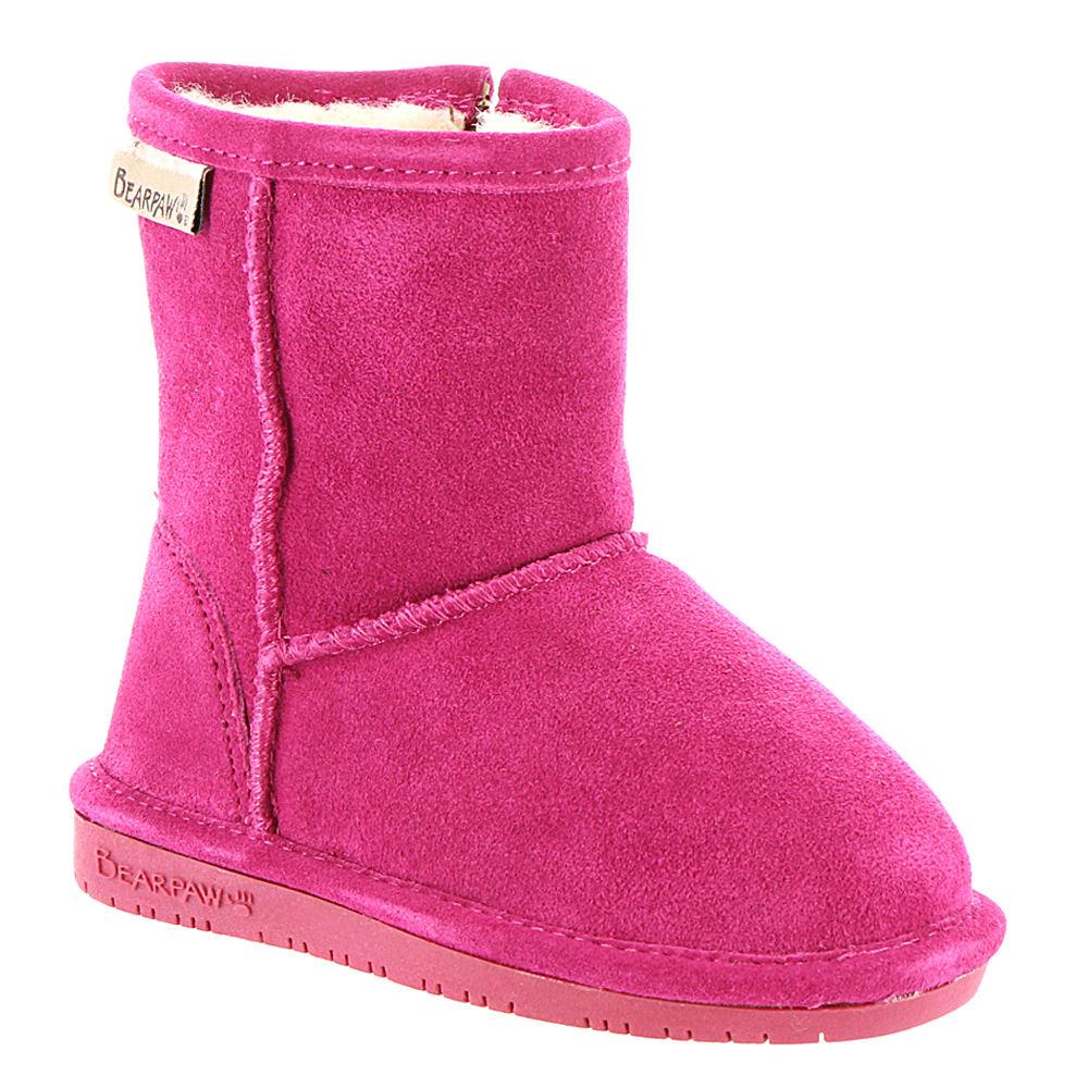 Bearpaw Emma Zipper Girls' Toddler Pink Boot 8 Toddler M