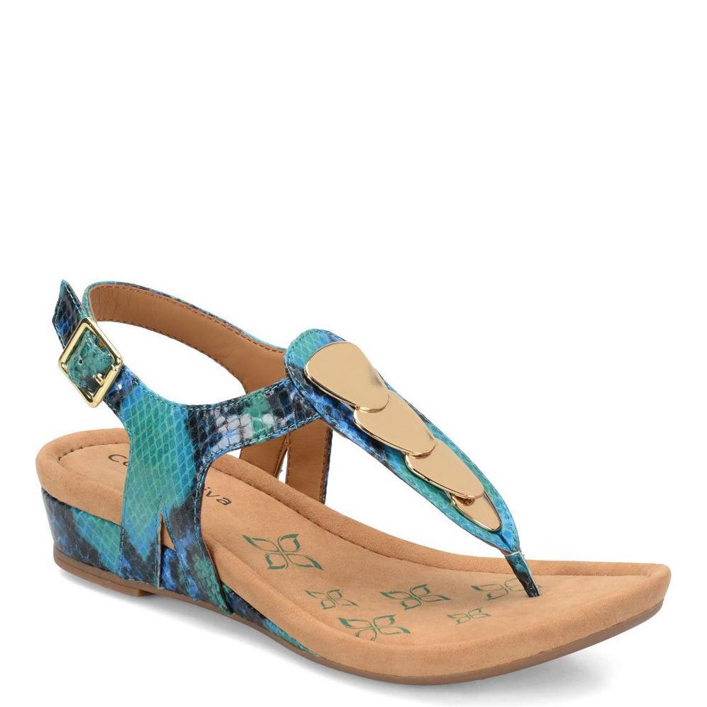 Comfortiva Summit Women's Blue Sandal 6 M
