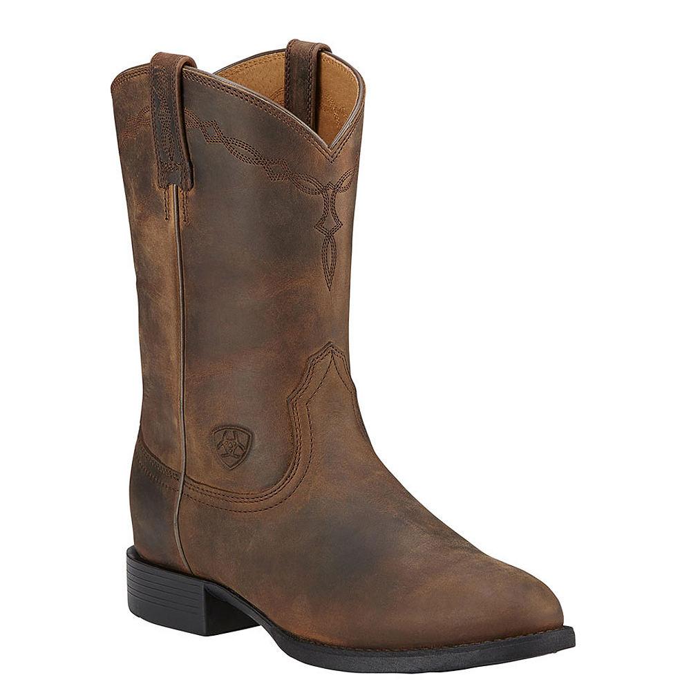 Ariat Heritage Roper Women's Brown Boot 9 C