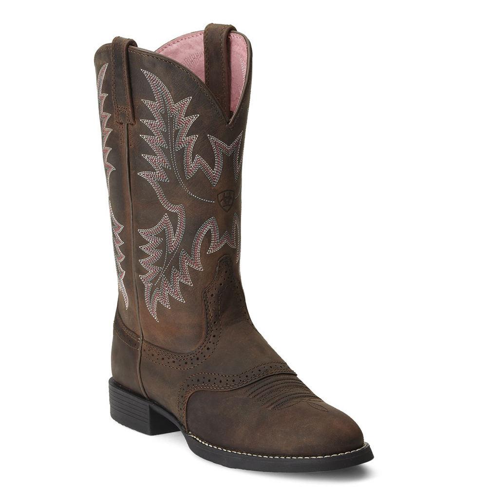 Ariat Heritage Stockman Women's Brown Boot 7.5 B