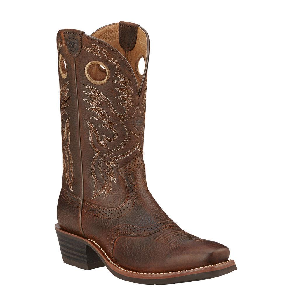 Ariat Heritage Roughstock Men's Brown Boot 13 D