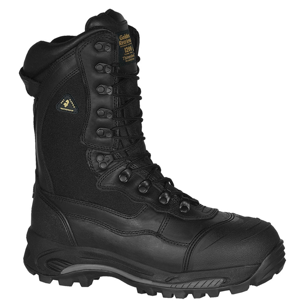 GOLDEN RETRIEVER Dakota Insulated CT Men's Black Boot 8 M